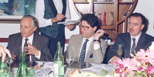 Franco Picone e Remi Krug a La Muciara
