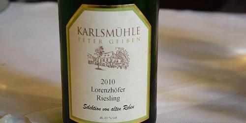 Lorenzhofer Riesling 2010