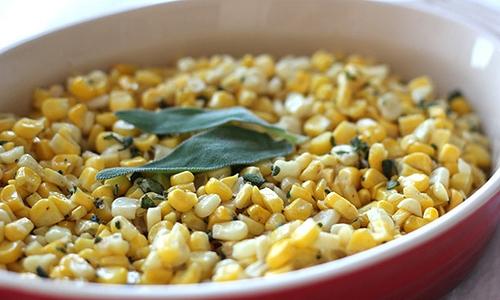 Thanksgiving's corn