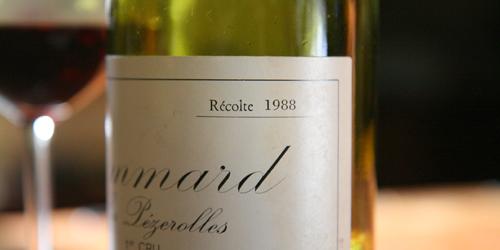 Pommard Le Pezerolles De Montille 1988