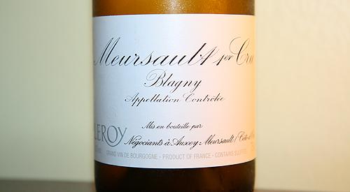 Meursault Blagny 2005
