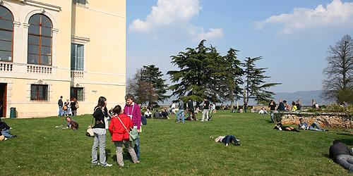 Villa Favorita, il parco