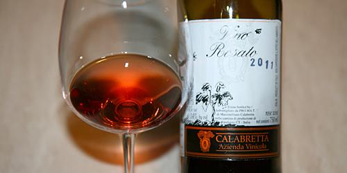 Calabretta, rosato 2011
