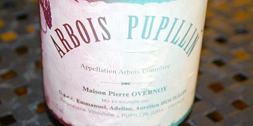Arbois Pupillin Overnoy 2005, bottiglia