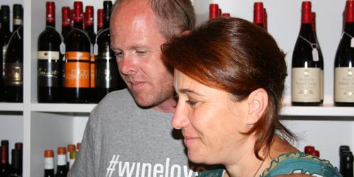 Benjamin Spencer e Valeria Carastro (Etna Wine School)
