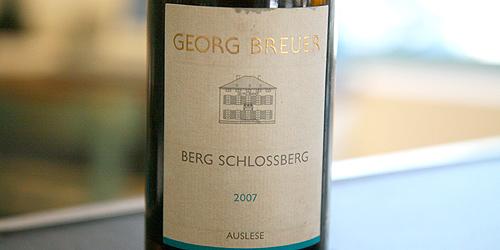 Berg Schlossberg Auslese Goldkapsel 2007