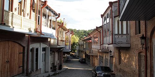 Le strade di Sighnaghi