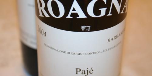 Roagna, Barbaresco Pajé 2004