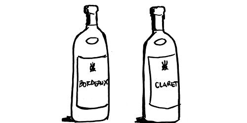 bordeaux-claret