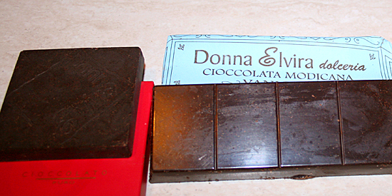 donna-elvira, cioccolato modicano, modica